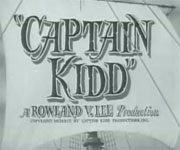 Captain Kidd (1945)