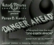 Danger Ahead (1935)