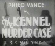 Philo Vance – The Kennel Murder Case (1933)
