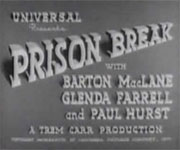 Prison Break (1938)