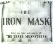 The Iron Mask (1929)