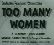 Too Many Women (1942)